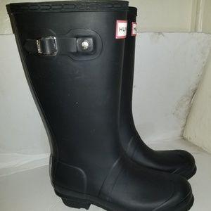 Hunter rain kids boots size 4g 3b